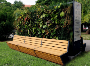 Lavička Smart Bench