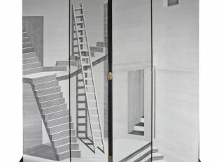 Paravan Scaletta black/white