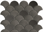 Metalické mozaiky DROP