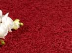 Přírodní vlněný koberec Palace Lux Červený vlněný koberec Best Wool Carpets dodává BOCA Praha.