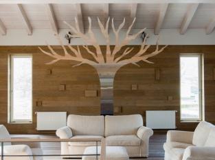 Dřevěné obložení stěn Mardegan