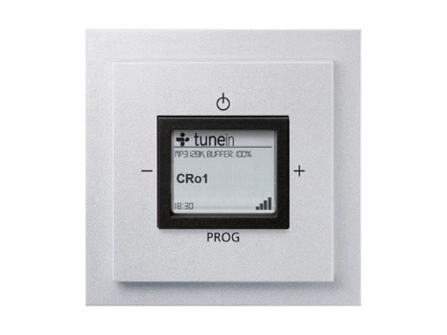 Neo® Tech Neo® Tech - internetové radio Busch-iNet AudioWorld, barva titanová/onyx