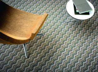 Vlněný koberec s designem na míru