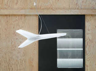 Závěsná lampa Aircon
