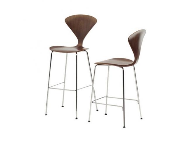 Chair - Stool Chrome Base CHERNER Chair - Stool Chrome Base