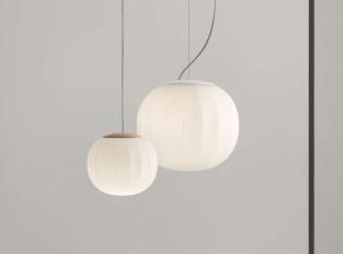 Závěsná lampa Lita