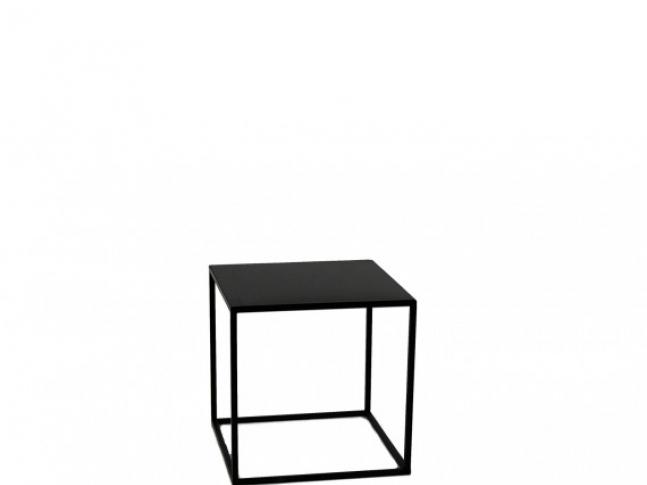 LOOOOX stolek kovová krychle