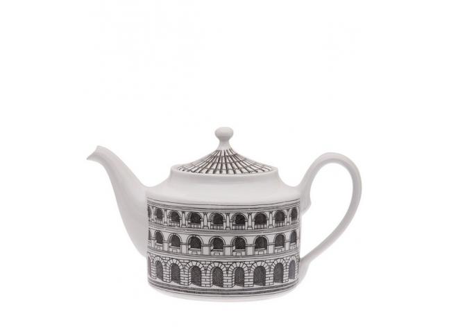 Tea pot Architettura black/white