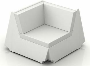 Rest Sofa - rohový díl