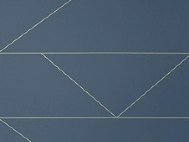 Tapeta Lines Dark Blue