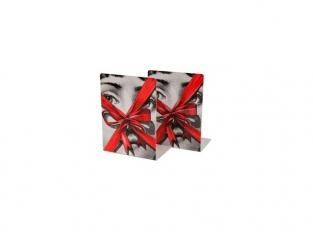 Bookends Gift Tema e Variazioni black/white/red