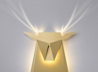 Popup Lighting - Deer Head