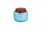 Váza Container low blue