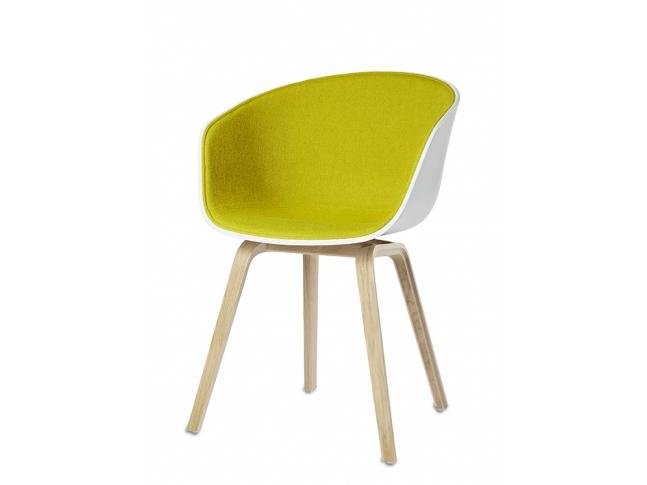About A Chair - AAC22 AAC22 přední polstrování Kvadrat - Hallingdal 420