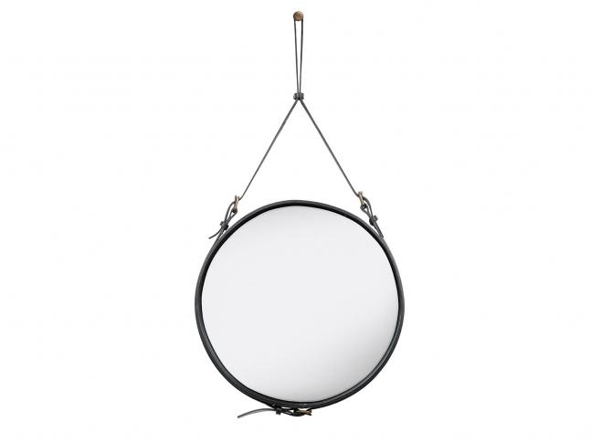 Zrcadlo Gubi Adnet Circulaire adnet-black