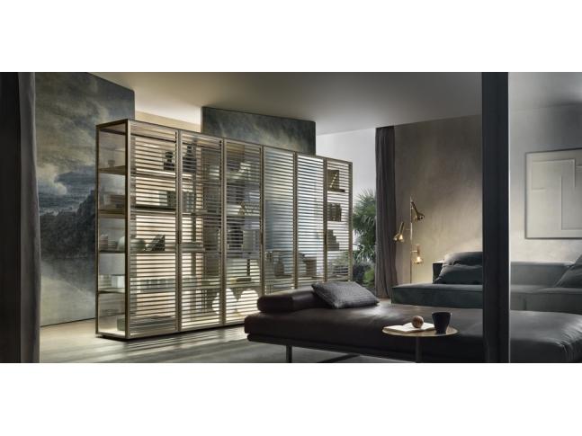 Alambra - obývací stěna, dvere, provedeni sklo