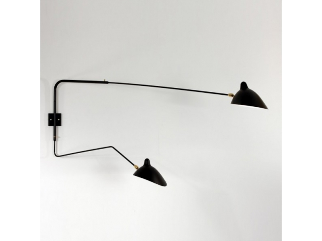 Serge Mouille Wall Lamp