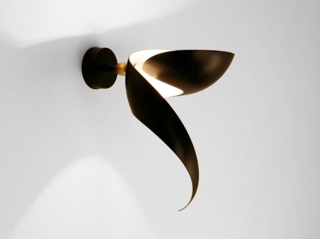 Nástěnná lampa Serge Mouille FLAMME