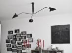 Závěsná lampa Serge Mouille P3B