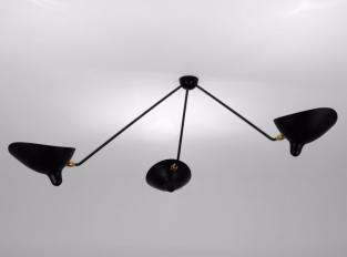 Závěsná lampa Serge Mouille PAR3B