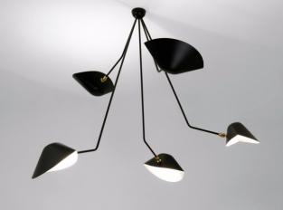Závěsná lampa Serge Mouille PAR5BC