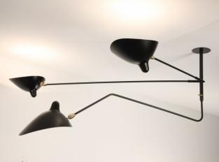 Závěsná lampa Serge Mouille S2B1C