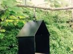 LOOOOX ptačí budka kovová černá BD_0244_TI_3