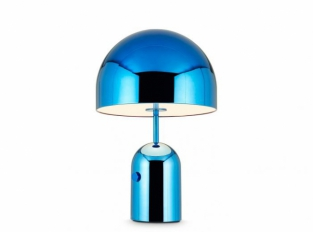 Bell Table Light Blue