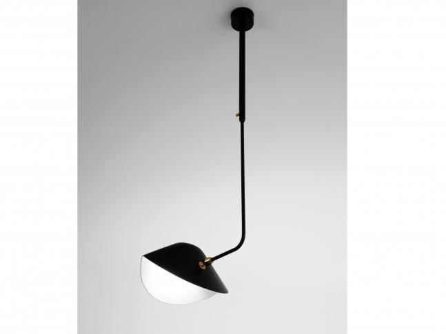 Závěsná lampa Serge Mouille Courbe