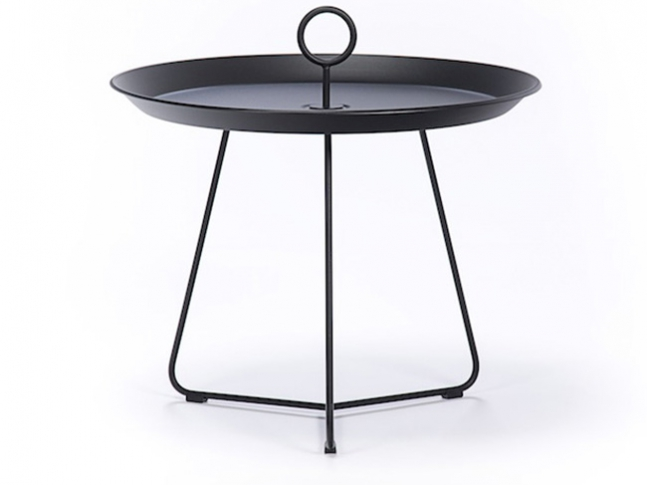 Eyelet Tray Table Black 60