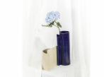 Keramická váza Blocks velká Blocks_váza_modrá_krémová