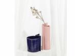 Keramická váza Blocks malá Blocks_váza_modrá_růžová