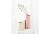 Keramická váza Blocks malá Blocks_váza_růžová_krémová