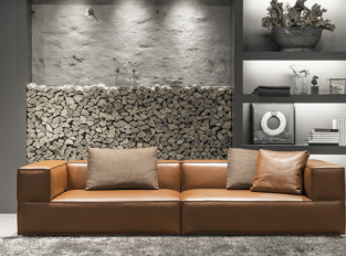 Sofa BORDER LEATHER