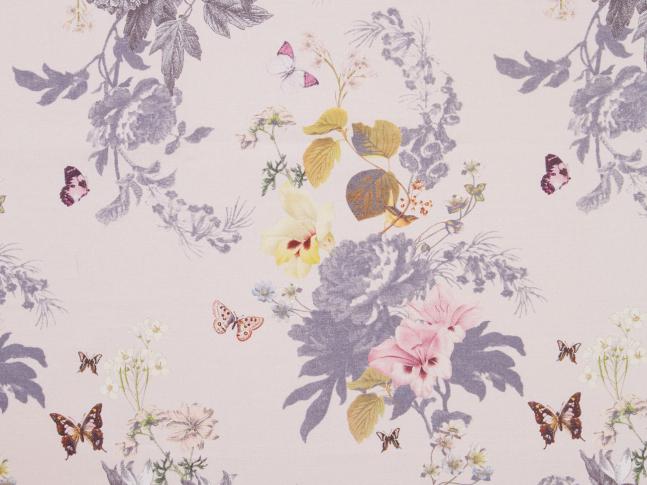 Látka Botanical Bouquet Blush