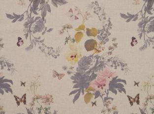 Látka Botanical Bouquet Linen