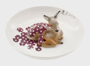 Bowl with Fawn