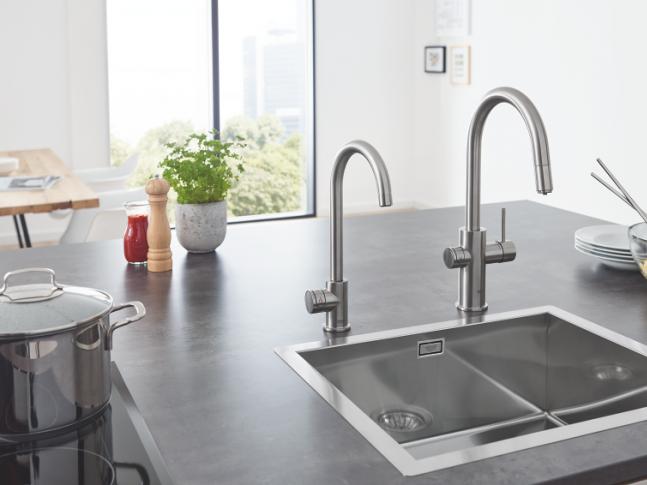 Kuchyňské systémy GROHE Blue Red