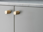 Furniture Knob Nude Buster + Punch - Furniture Knob Nude