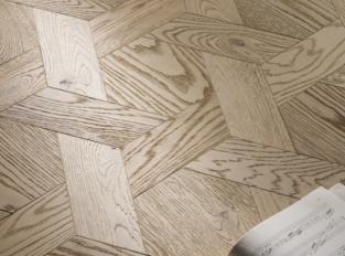 Mozaiková dřevěná podlaha Casablanca