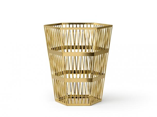 Tip top waste bin