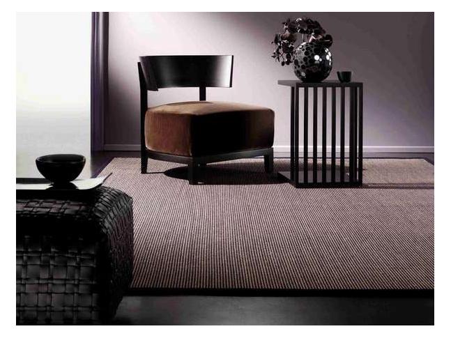 City Stripe - přírodní sisalový koberec Přírodní sisalový koberec Tasibel s vysokou odolností.