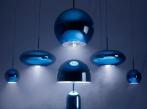 Bell Table Light Blue