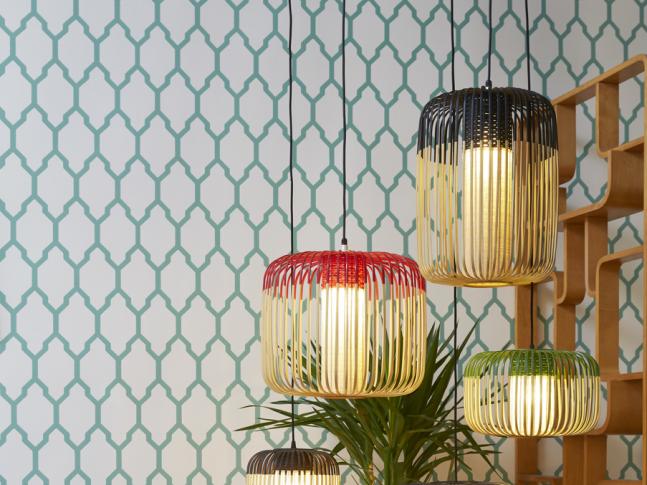 Závěsné světlo Bamboo xs