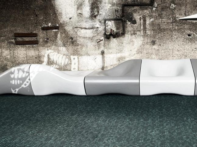 Designový koberec Dune z recyklovaného vlákna Designový koberec Dune Object Carpet, dodává BOCA Group Praha.