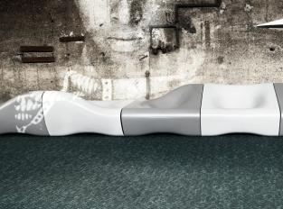 Designový koberec Dune z recyklovaného vlákna