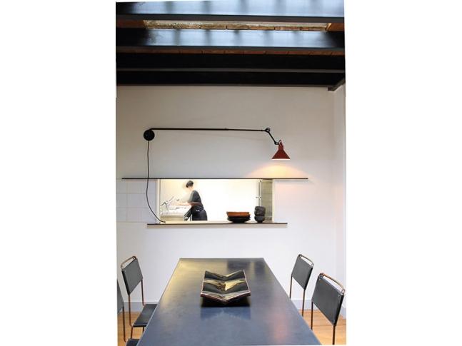 Nástěnná lampa DCW N°213