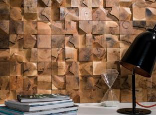 Mosaic - Wood Cubes