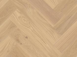 Dřevěná podlaha Oak White Adagio Heringbone