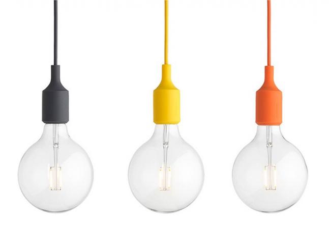 Závěsné světlo Muuto E27 LED